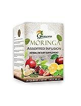Moringa Assorted Infusion - 20 Tea Bags/Box - Made with Organic Moringa Leaf