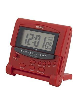 CASIO 10752 PQ-14-4R - Reloj Despertador digital