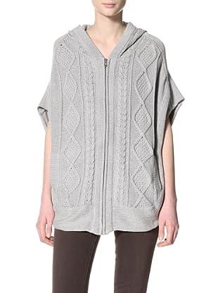 Acrobat Women's Hooded Poncho Sweater (Sweatshirt)