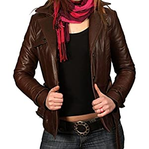 The Dharavi Market n178 Women's leather jacket