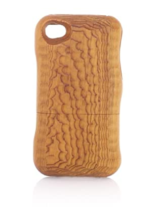 Real Wood iPhone 4/4S Case, U-Shaped Knife, Japanese Yew