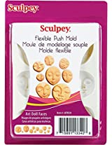 Sculpey Push Mold -Art Doll Faces