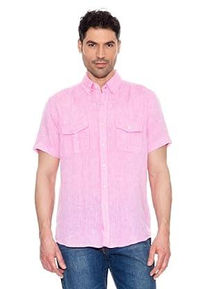Pedro del Hierro Camisa Lino (Rosa Claro)