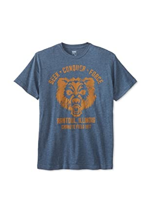 Brookline Men's Seek and Conquer Tee (Indigo)