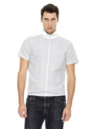 Puma Camisa Denim (Plata / Blanco)