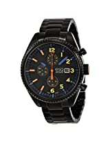 Esq By Movado Chronograph Black Dial Black Ion-Plated Stainless Steel Men'S Watch - Esq-07301452