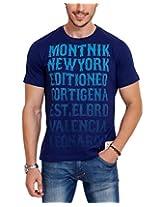 Elaborado Men's T-Shirt, Navy, XXLarge, EAIS5047NA5