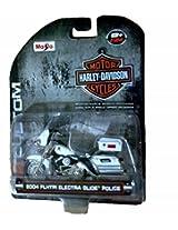 Police Harley Davidson Motorcycle Model Flhtpi Electra Glide Cruiser