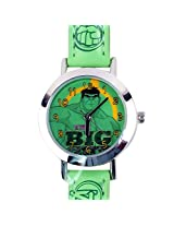 Hulk Kids Analog Watch - Green