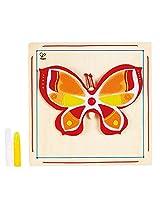 Hape - DIY Crafts - Beautiful Butterfly Wooden Art Kit