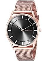 Skagen Holst Analog Gunmetal Dial Women's Watch - SKW2378