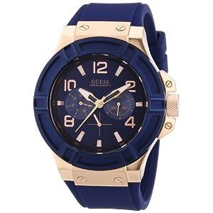 Guess Analog Blue Dial Men's Watch - W0247G3