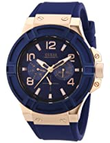 Guess Analog Blue Dial Men's Watch - W0247G3