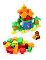 Mega Builders Build a Dinosaur, Multi Color