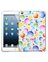 MyBat Back Protector Cover for iPad mini, Rainbow Bigger Bubbles Smart Slim (IPADMINIHPCBKIM953WP)