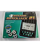 Radica Handheld Winner Blackjack 21 Game #1750