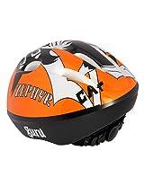 Guru Skating / Cycling Adjustable Helmet Orange Black (Large)