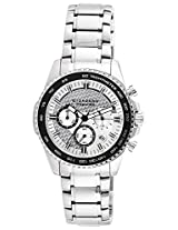 Giordano Premier Chronograph Silver Dial Men's Watch - P114-22