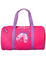 QUILTED DUFFLE BAG-BALLET