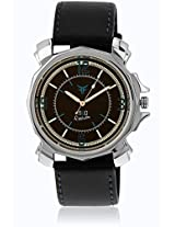 Gl-018 Black/Brown Analog Watch Figo