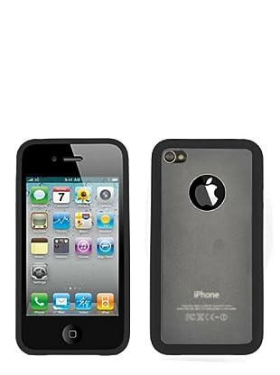 Blautel iPhone 4/4S Carcasa Protectora Bumper Lateral Negro