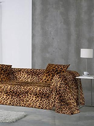 Naturals Colcha Leopard