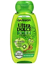 "Garnier: ""Ultra Dolce Bambini"" (""Super Sweet For Kids"") Shampoo With Green Apple And Kiwi * 250ml * 8.45fl.Oz * [ Italian Import ]"