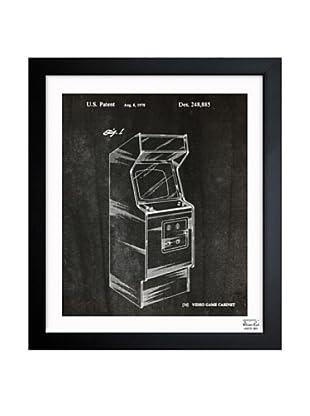 Oliver Gal Game Cabinet, 1978 Framed Giclée