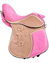 Raghav Pony Saddle- Multi color (RH006 _ 16 inches)