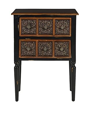 Safavieh Kenneth Side Table, Dark Brown