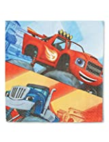 American Greetings Blaze And The Monster Machines Lunch Napkins (16 Count)