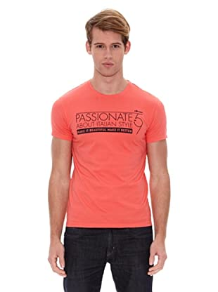 Ellesse Camiseta Basic (Coral)