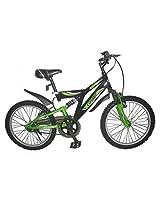 Cosmic Beast MTB Bicycle, Kid's 20-inch (Black/Green)