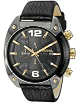 Diesel Overflow Analog Black Dial Men's Watch - DZ4375