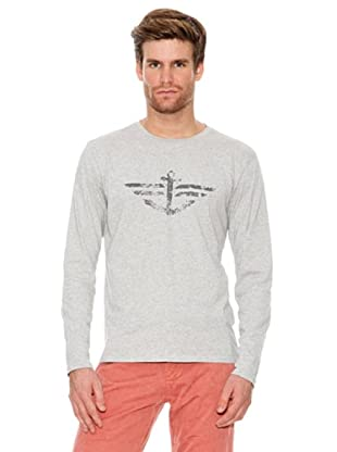 Dockers Camiseta con Grafico (gris)