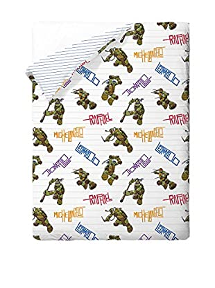 Tortugas Mutantes Colcha Tortugas Ninja Bros