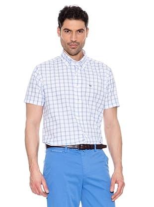 Pedro del Hierro Camisa Cuadros (Celeste)