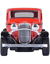 KINSMART 1932 Ford 3 - Window Coup- Red