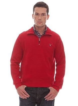 Gant Sudadera Cremallera (Rojo)