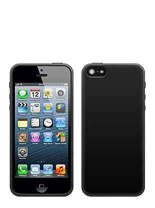 Blautel iPhone 5 Funda 4-Ok Protek Colors Negro