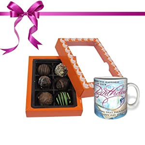 Exceptional Combination of Tempting Truffles with Combo - Belgium Chocolate Gifts