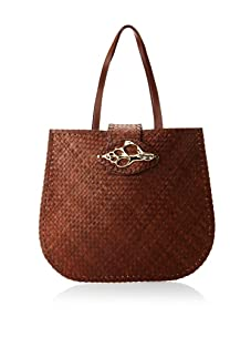 Felix Rey Women's Tortola Tote with Shell (Brown)