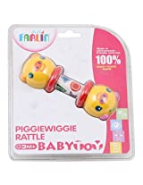 Farlin Piggiewiggie Rattle Baby Toy