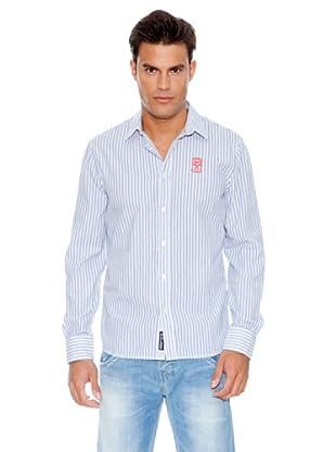 Pepe Jeans London Camisa Halston (Azul)