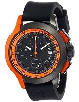 Ritmo Mundo Unisex 1151/3 Orange Quantum Sport Quartz Chronograph Aluminum Accents Watch