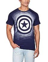 Captain America Men's Cotton T-Shirt