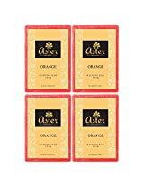 Aster Luxury Orange Bathing Bar 125g - Pack of 4