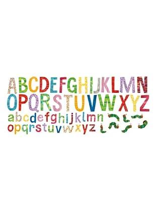 Beiwanda Kids Wandtattoo Die kleine Raupe Nimmersatt - Riesiges Buchstaben Set