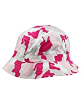 Bucket Hats Washed Cotton (Camouflage + Solid Color Styles- L/XL Sizes) Pink Camouflage/X-Large AD