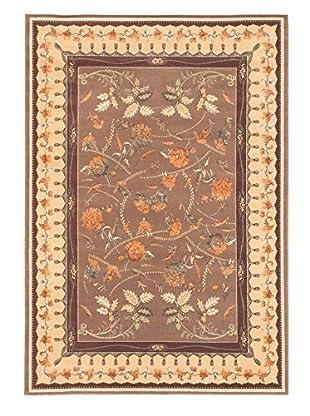 Chateau Versailles Rug, Brown/Ivory, 5' 3